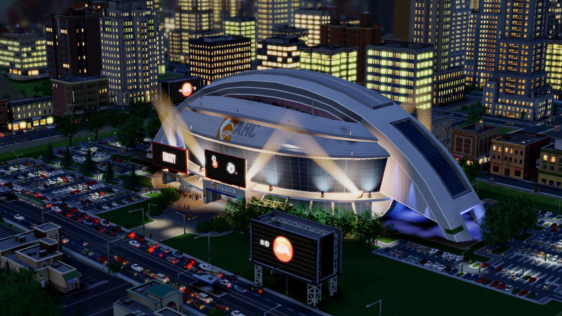 Screenshot von SimCity
