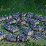 Screenshot von SimCity Französisches Stadtset