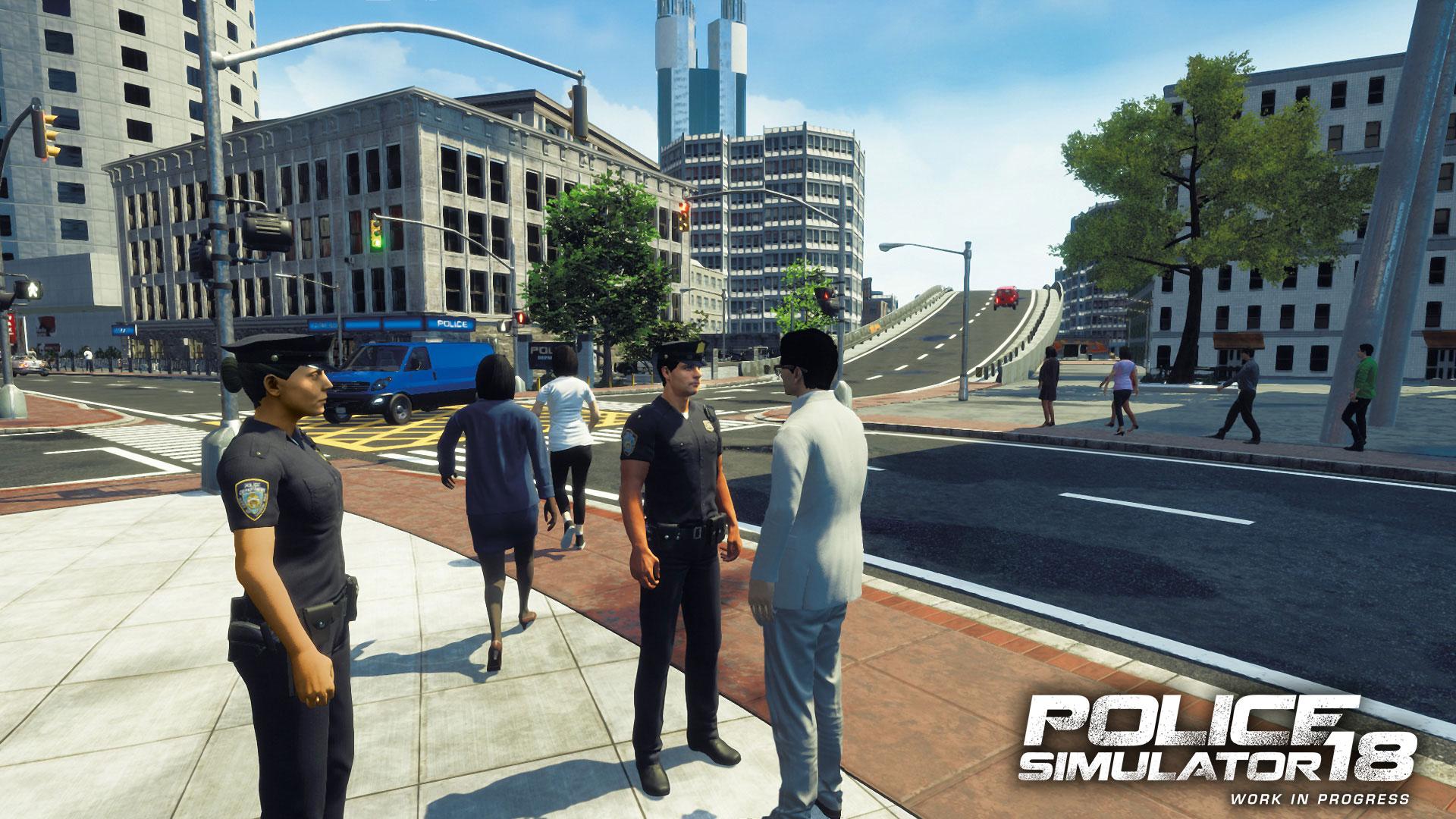 Screenshot von Police Simulator 18
