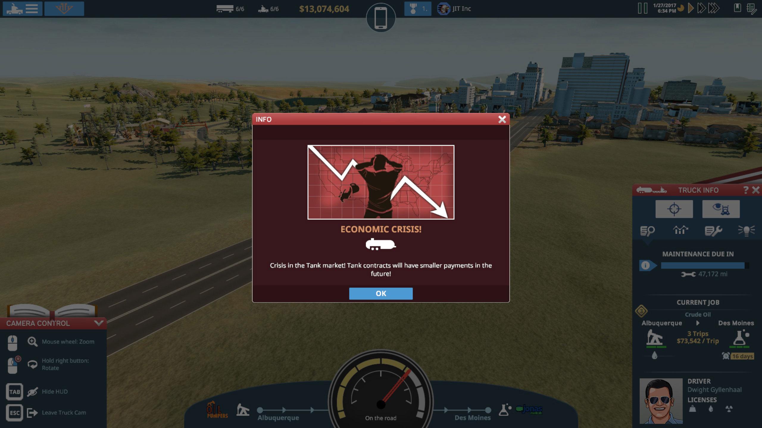 Screenshot von TransRoad: USA